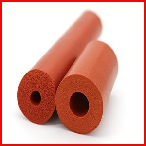 Silicone Sponge Foam Sleeve High Temperature Heat Resistant Insulation Hoses Pipes