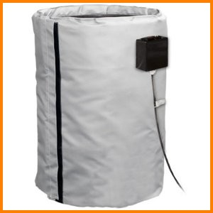 Insulated Heated 30 and 55 gallon drum covers