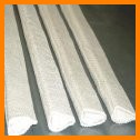 Tacky Cloth White Rubber coated Fiberglass Groove Packing Luting